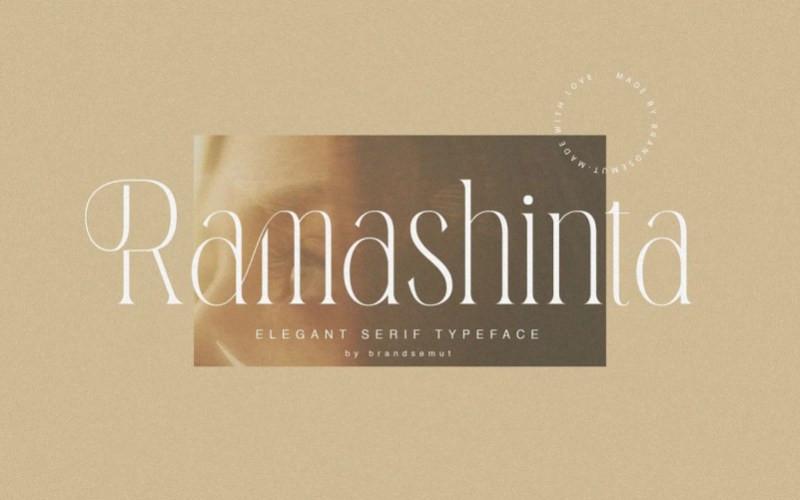 Ramashinta Serif Font
