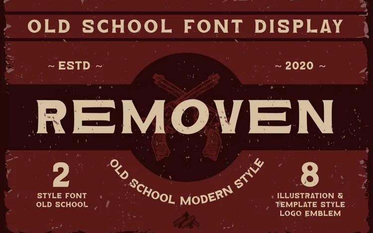 Removen Serif Font