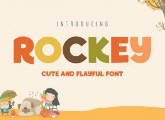 ROCKEY Display Font