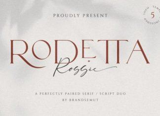 Rodetta Serif Font