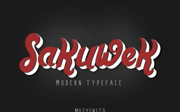 Sakuwek Script Font