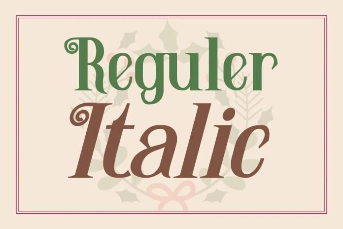 Santhoria Sans Serif Font