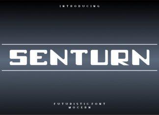 Senturn Display Font