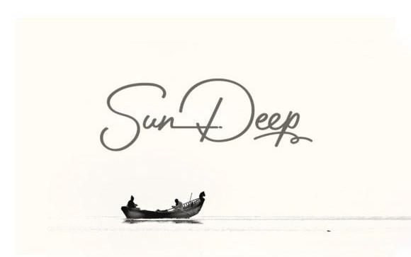 Sun Deep Script Font