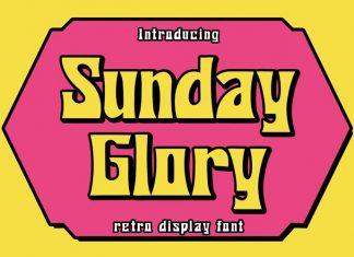 Sunday Glory Display Font