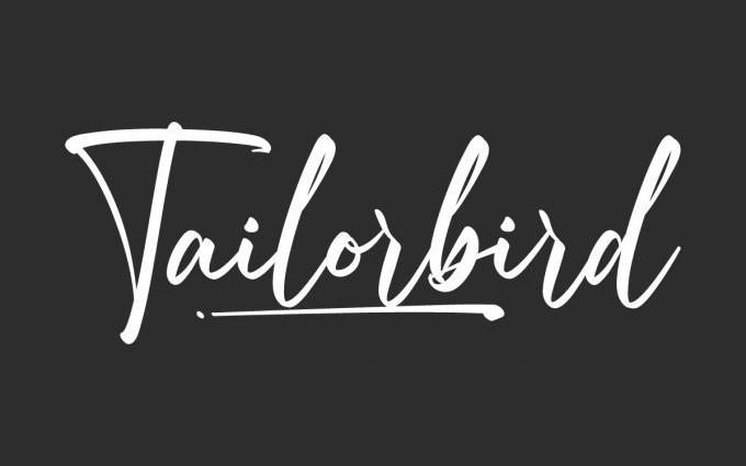 Tailorbird Script Font