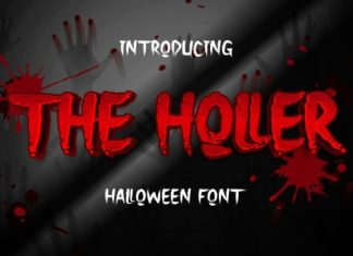 The Holler Display Font