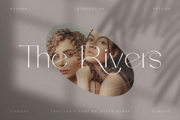 The Rivers Sans Serif Font