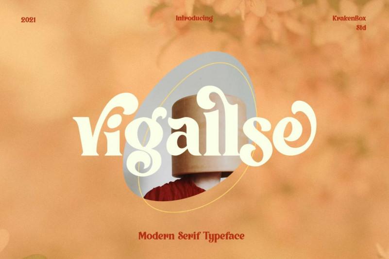 Vigallse Serif Font
