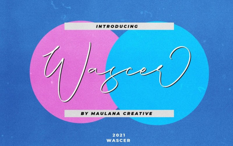 Wascer Script Font