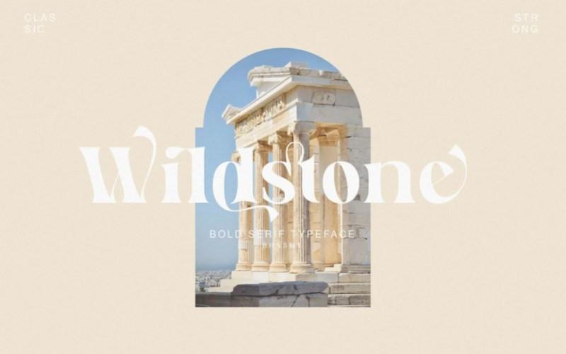 Wildstone Serif Font